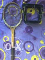 Old tennis racquet