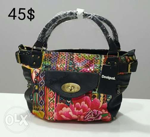 Desigual bag only 1pc new