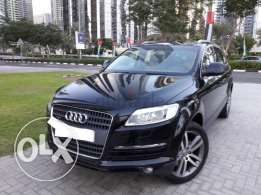Audi Q7 2008 7 seater arrived