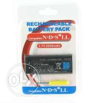 rechargeable batteries for nintendo ds new boxed