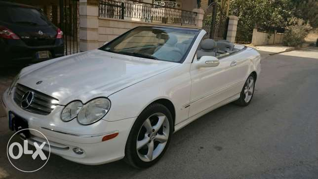 Mercedes CLK, model 2004 excellent condition