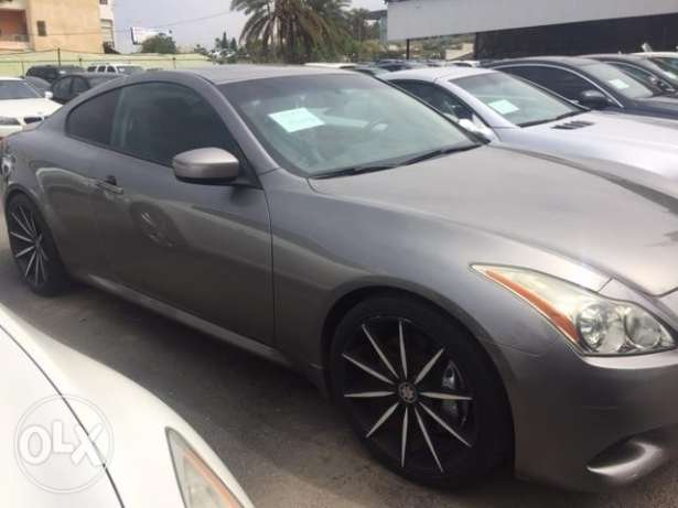 G37 2008 gray clean