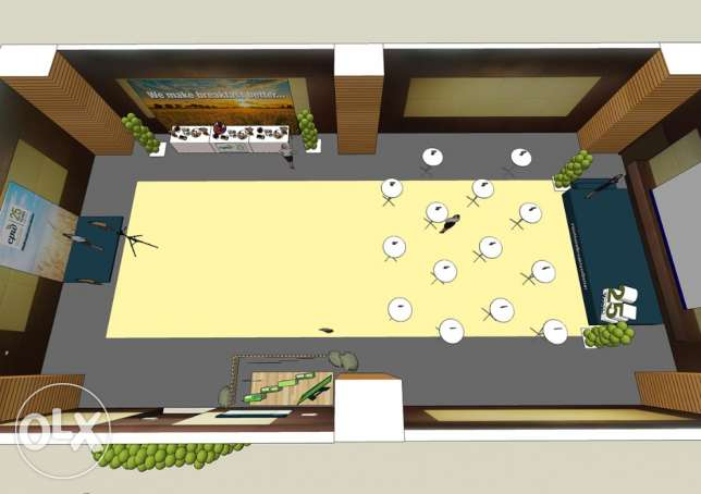 3D DESIGNER for your EVENTS and ceremonies... انطلياس -  2