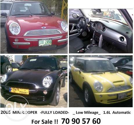 mini cooper usa full options