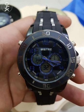 Digital and analogue sport watches