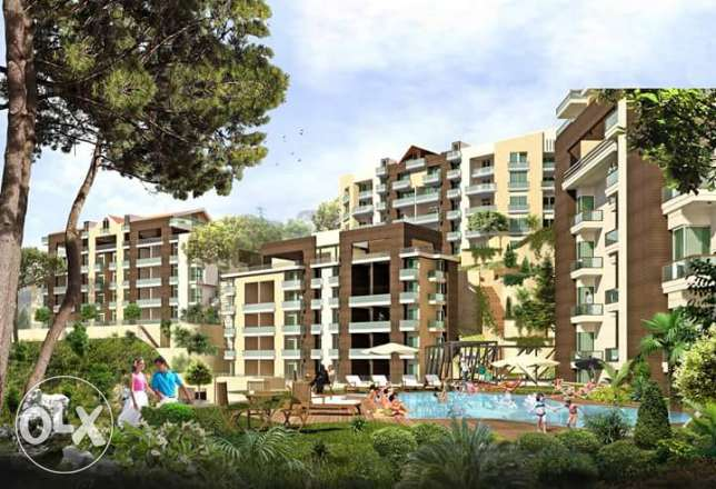Luxury apartments for sale in Hboub Beautiful calm valley view!