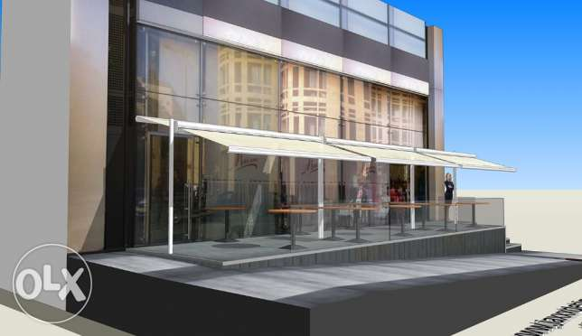 3D DESIGNER for your AWNINGS and store facades انطلياس -  1