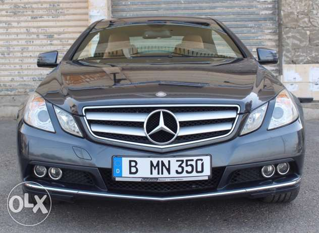Mercedes E350 CGI Coupé 2010 from Germany located Maghduche