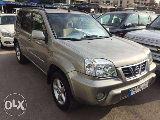 Nissan XTRAIL model 2003