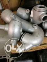 new VM diesel engine exhaust elbows