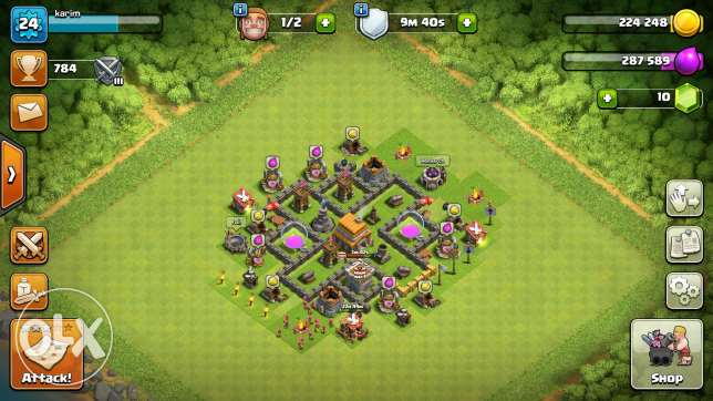 clash of clans lal be3 level