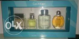 Calvin Klein Eau De Toilette Collection for Men (4 x 15 ml)