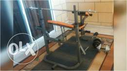 Body Sculpture training bench for sale