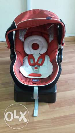 Pram car seat and stroller chicco trio set