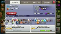 Clash of clans account level 96