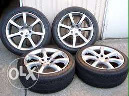 """infinity & nissan rims and tires 18"""""""