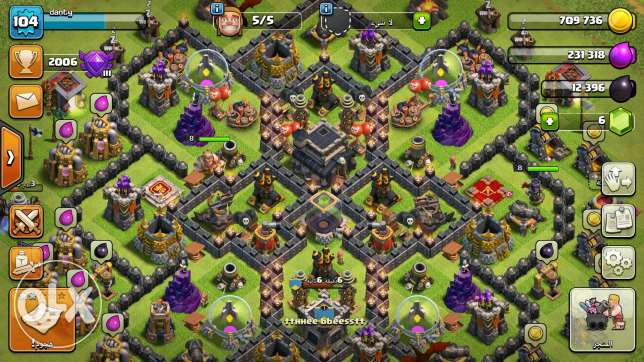 Clash of clan th9?+ max