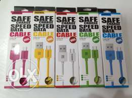 data and charging cable remax