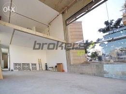 330 SQM Showroom for Rent in Beirut, Wadi Abou Jmeil RE3230