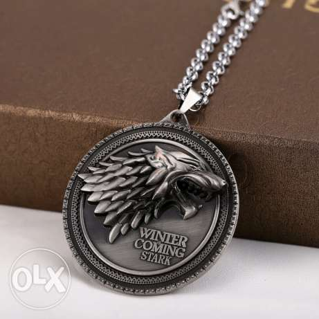 Game of thrones house of stark necklaces