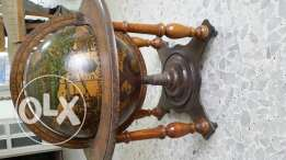 Antique home decorative globe
