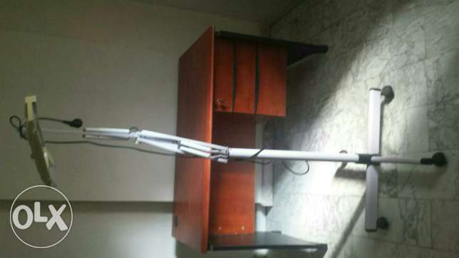 Desk is sold only mobile light available