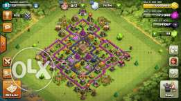 Clash of clans town hall level 8 ta2riban max