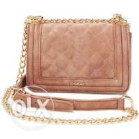 Bebe Lucy mini xbody spiced toffee shoulder small bag