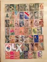 112 stamps from France