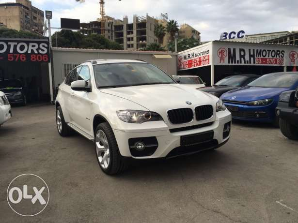 BMW X6 White 2011 Top of the Line in Excellent Condition! بوشرية -  7