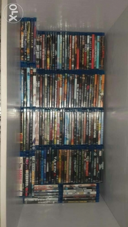 170 blu ray + more than 10 series + 100 games and programs