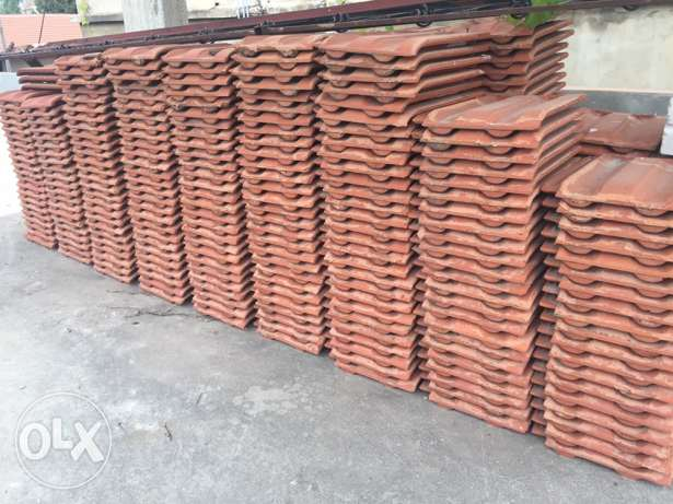 Franch bricks with metal structure قرميد