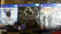 Used ps4 games
