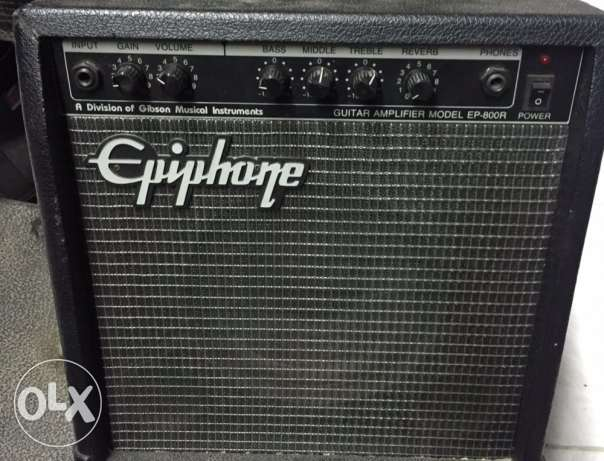Epiphone EP-800r guitar amplifier 69$