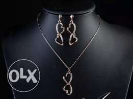 Heart style necklace