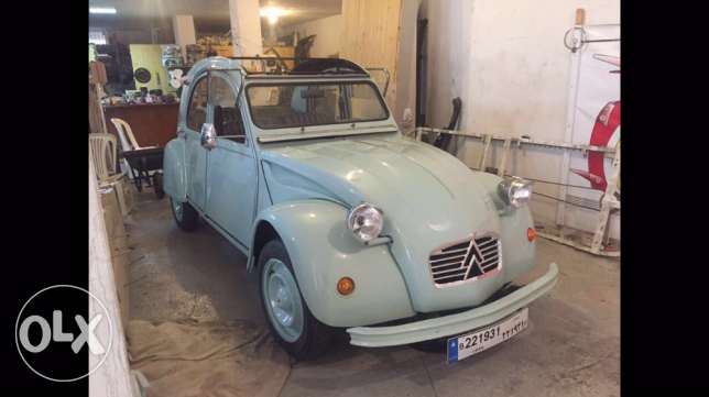 Citroen 2cv mint /for sale or rent for events