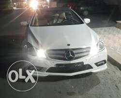 Mercedes E 350 coupe 2010 ajnabiyi full options amg kit