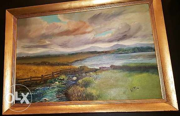 Canadian Furniture - Oil Canvas Framed