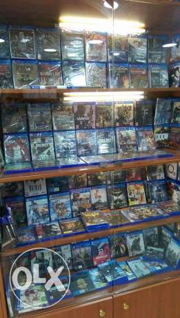 Ps4 games new and used البحصاص -  1