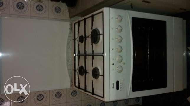 Oven and electric gaz