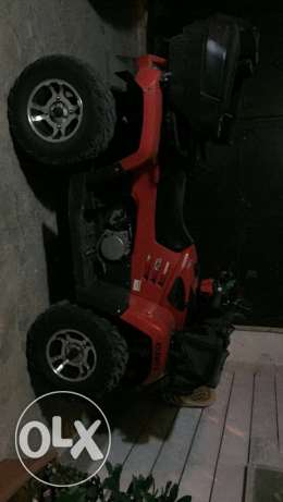 atv 600cc 2012 ndeef kteer 4500$ aw tabdeyl 3ala utv aw she off road البقاع الغربي -  3