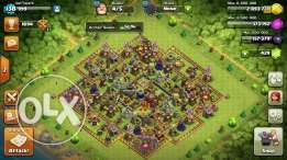 Coc max th10 & royale level 10 high troops