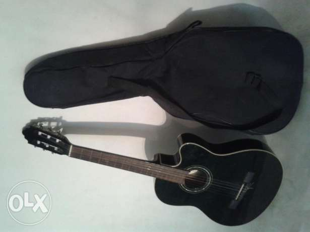 nylon guitar with syite case