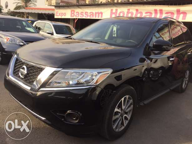 2013 Nissan Pathfinder SV AWD black for sale