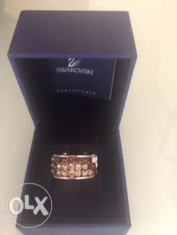 Swarovski ring أشرفية -  3