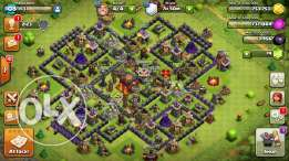 clash of clans base level 10