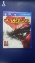 God of war 3 remastered (used)for ps4