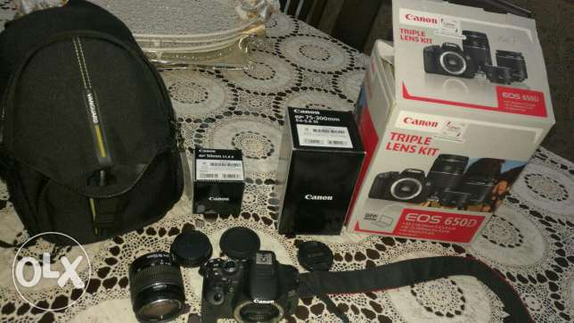 Canon 650D Brand new