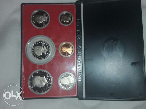 1979 United States coins mint proof set مصطبة -  1
