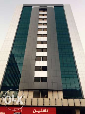High standards, fire rated, fifteen storey building offering offices and shops. ضبيه -  5